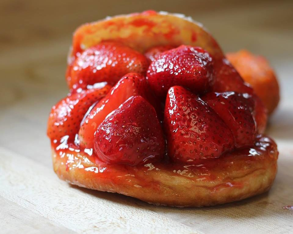 donut man strawberry grand central market