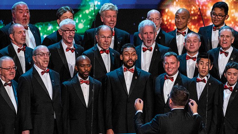 holiday events 2020 mask santa gay mens chorus