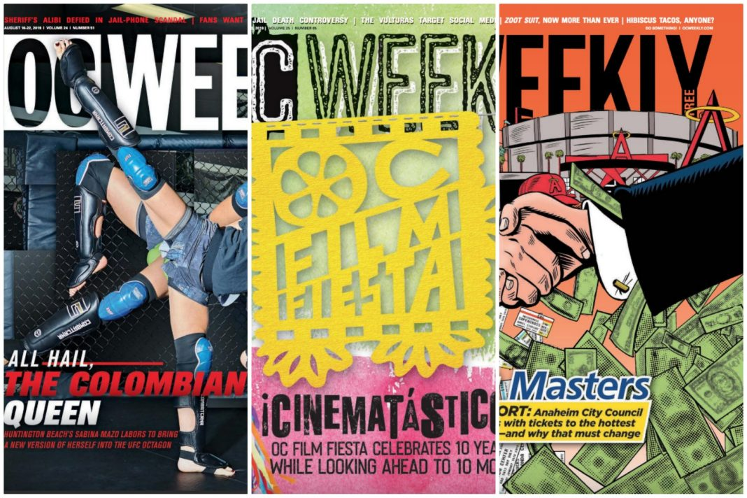 oc weekly closing