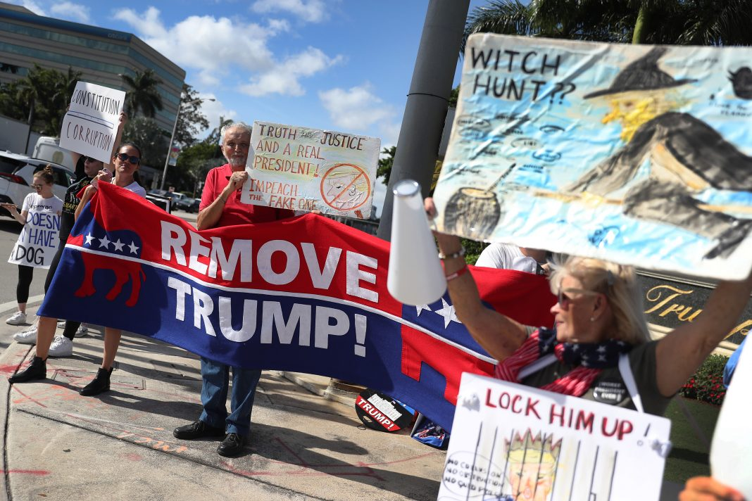impeach rally los angeles