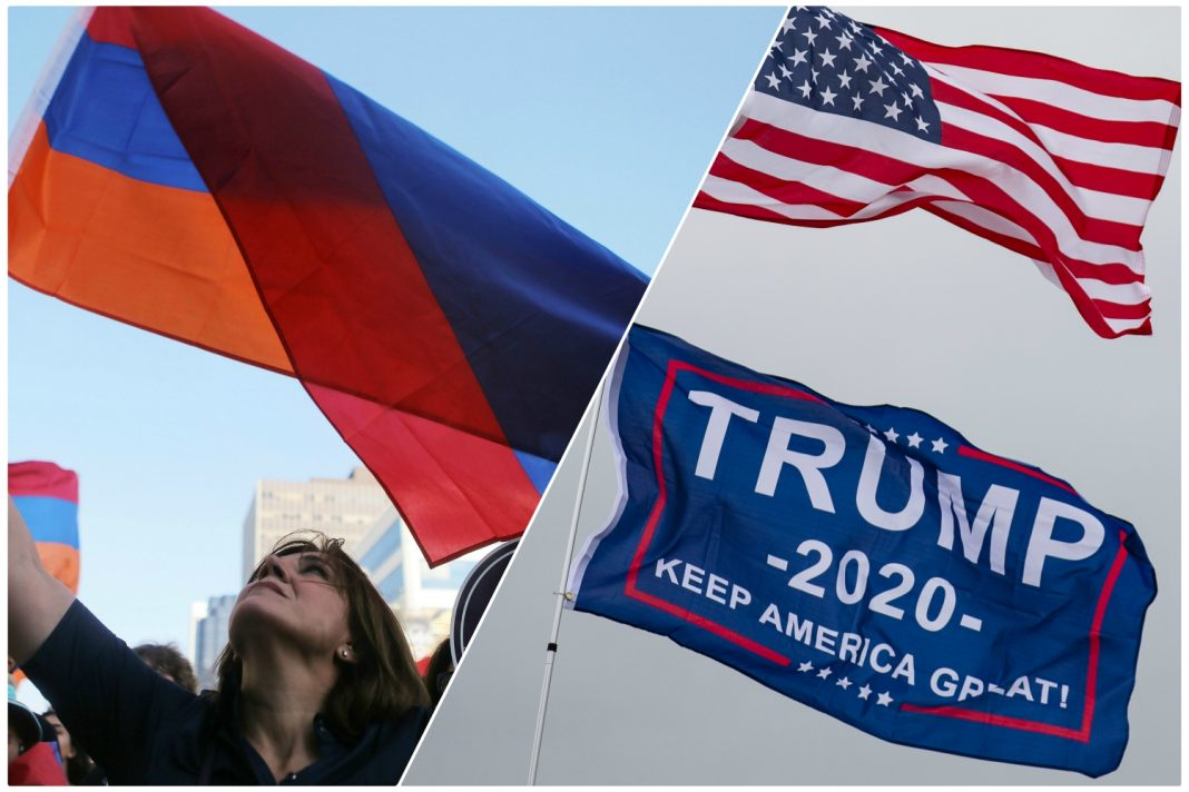 adam schiff armenian event trump protest impeachment