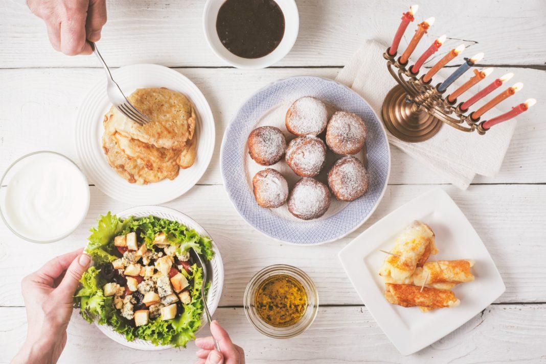hanukkah dinner to go los angeles