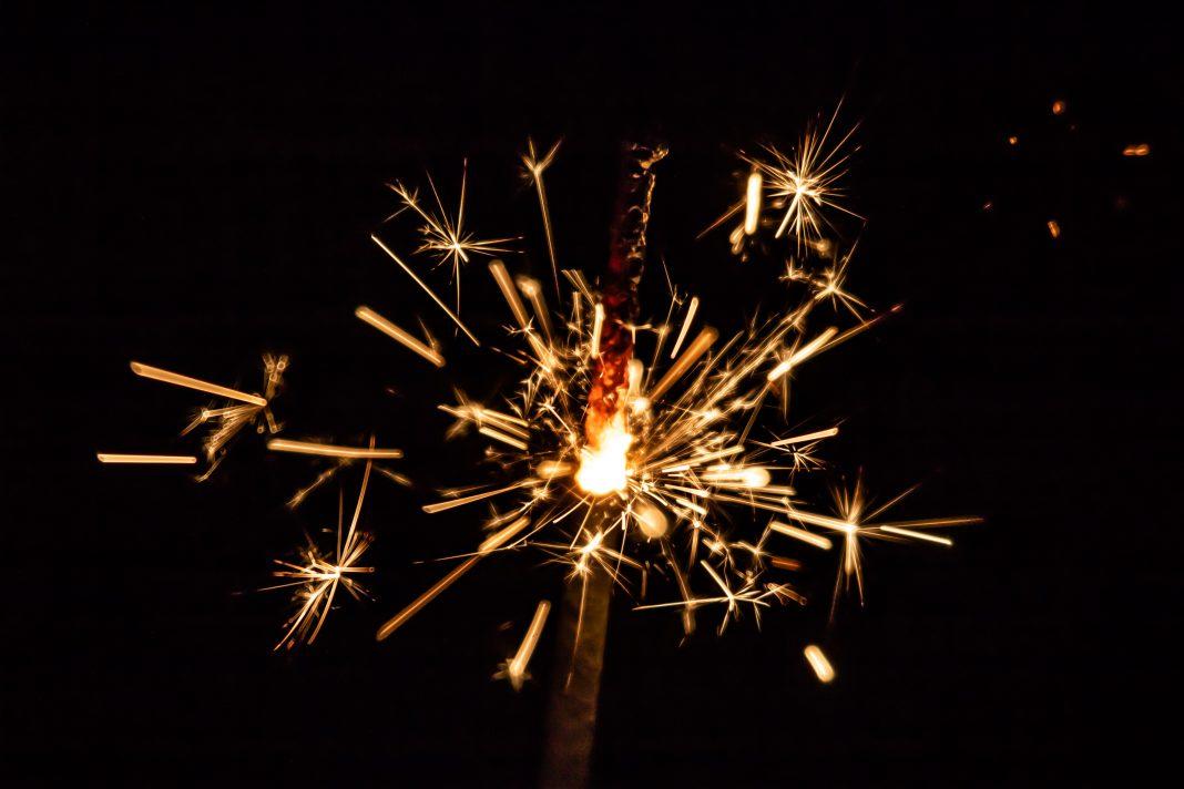 nye parties 2021 sparkler fireworks celebration
