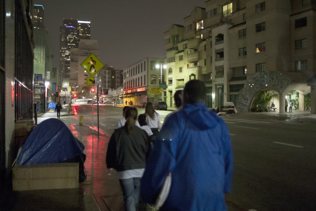 los angeles homeless services authority