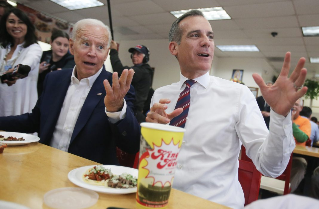 garcetti biden endorsement