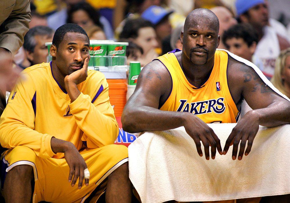Kobe Shaq Kobe Bryant Shaquille O'Neal