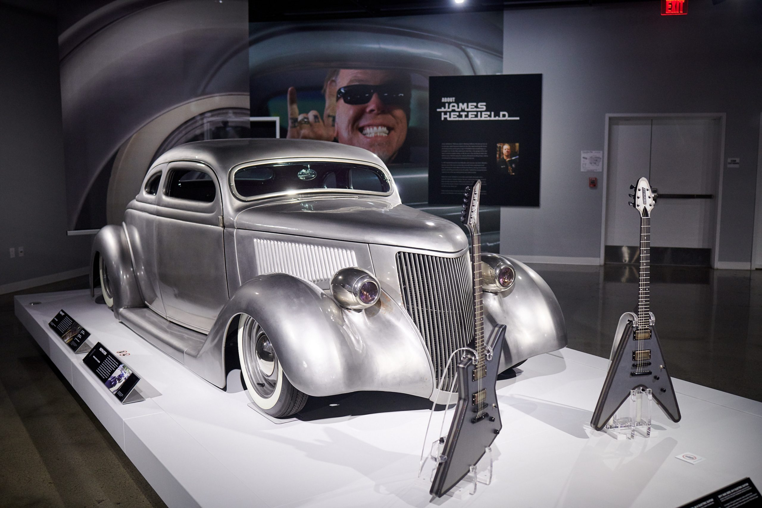 Car Auction Sites >> James Hetfield Shows Off His Insane Car Collection