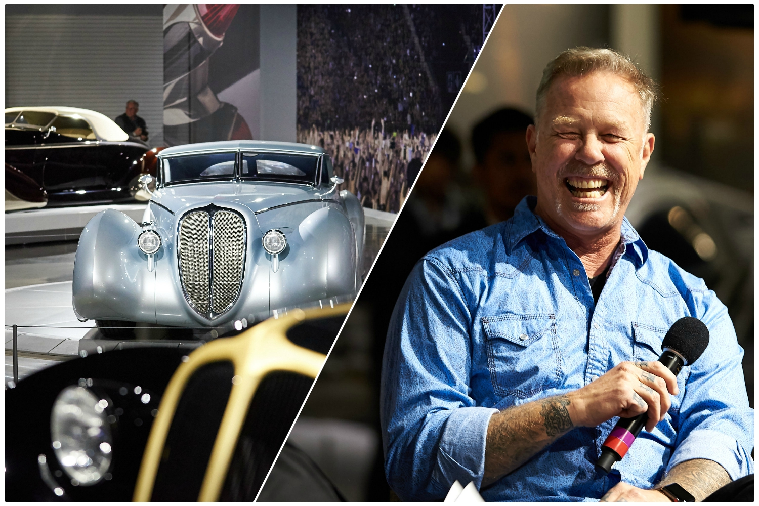 James Hetfield Shows Off His Insane Car Collection
