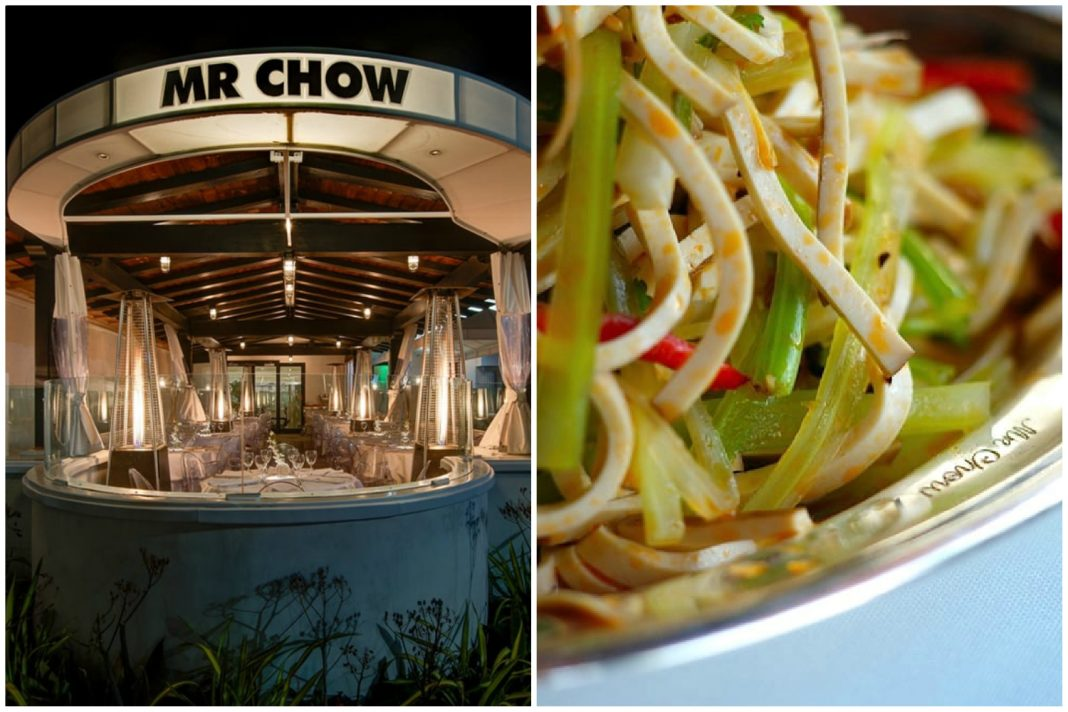 mr chow closed