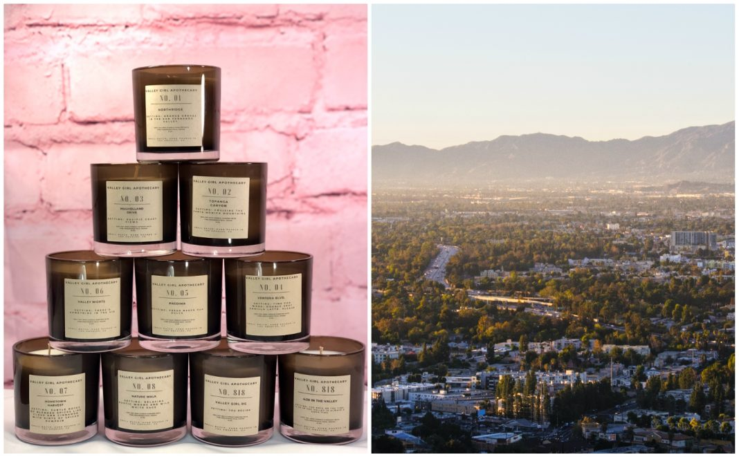 san fernando valley candles