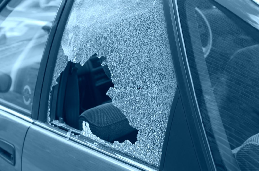 smash and grab theft los angeles