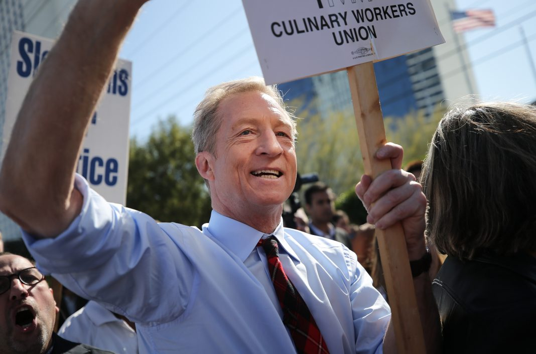 tom steyer california primary 2020