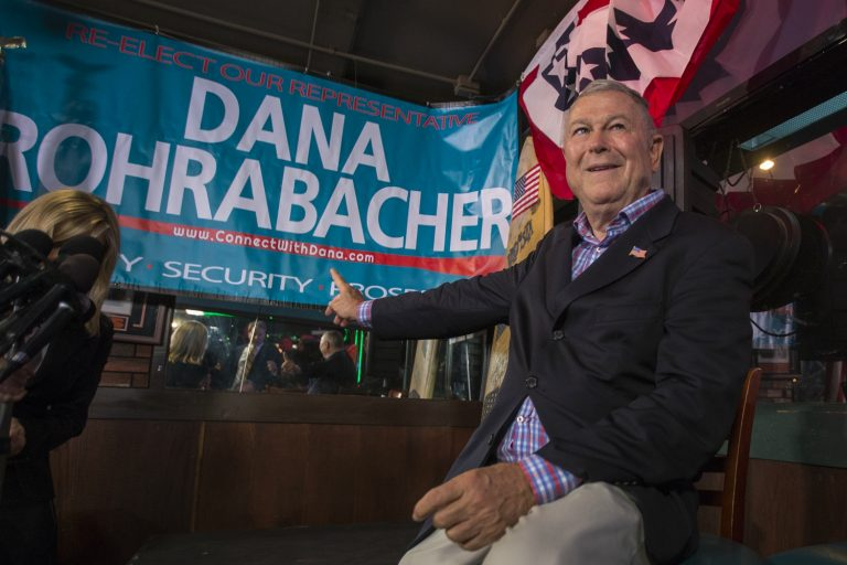 Putin Pal Dana Rohrabacher Is Lobbying for an OC Company that Claims to Have a COVID Cure