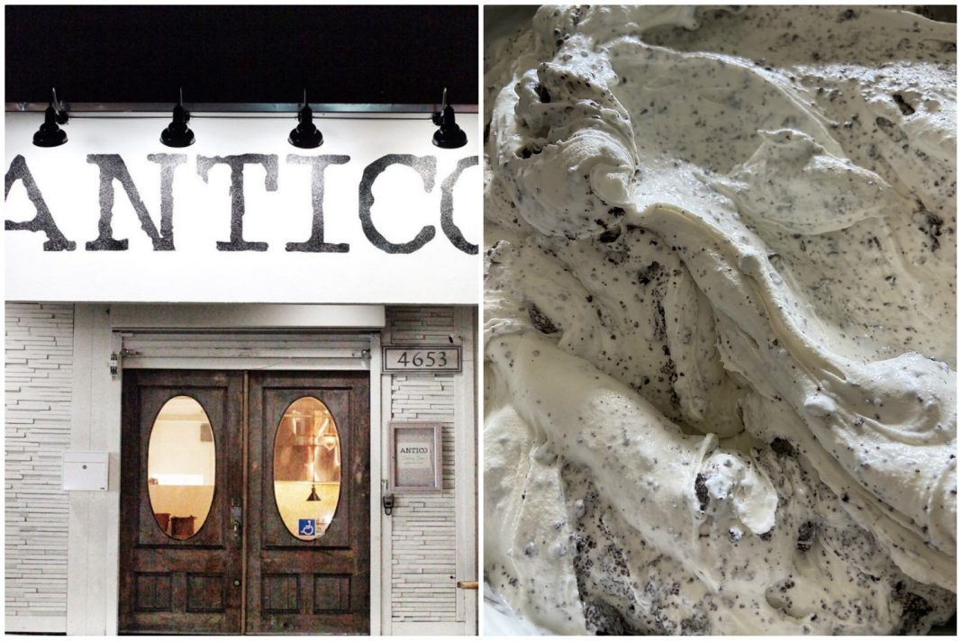 antico ice cream take-out