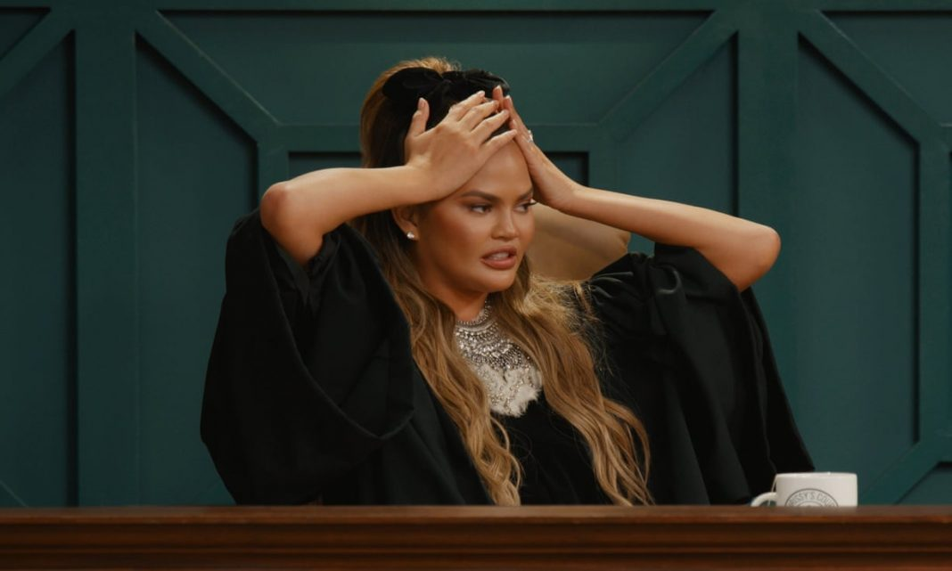 chrissy teigen chrissy's court quibi are judge shows real