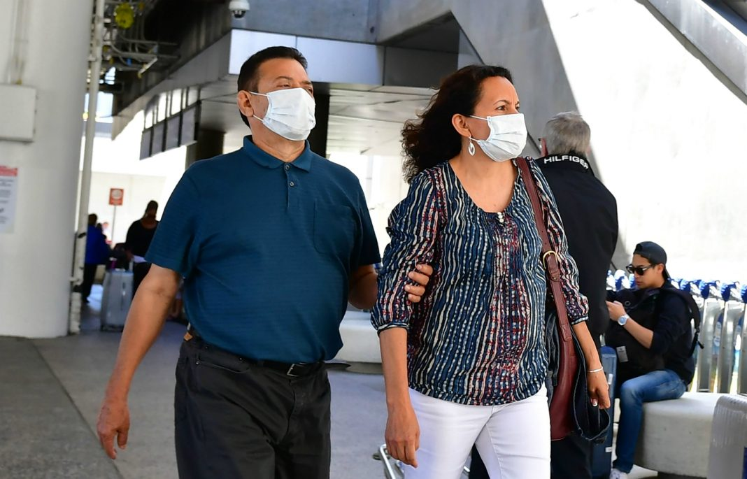 coronavirus los angeles wear masks