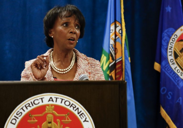 Jackie Lacey Rejects Calls to Keep Police Union Money Out of D.A. Campaigns