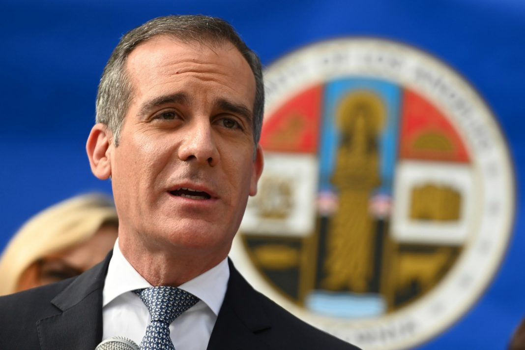 mayor eric garcetti coronavirus los angeles reopen
