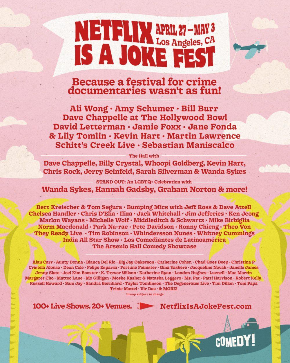netflix is a joke netflix comedy festival