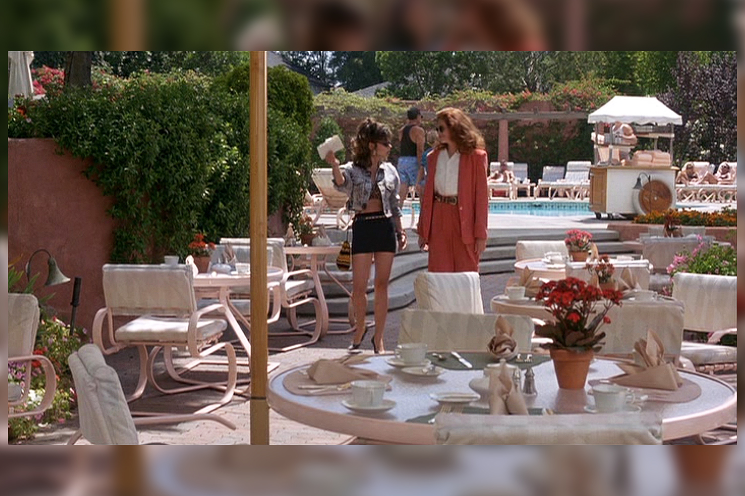 pretty woman pool scene