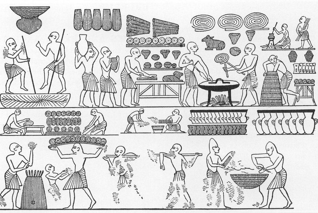 sourdough bread recipe ancient egypt