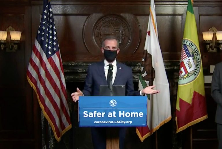 Los Angeles Residents 'Ordered to Remain in Their Homes' Due to COVID-19 Surge