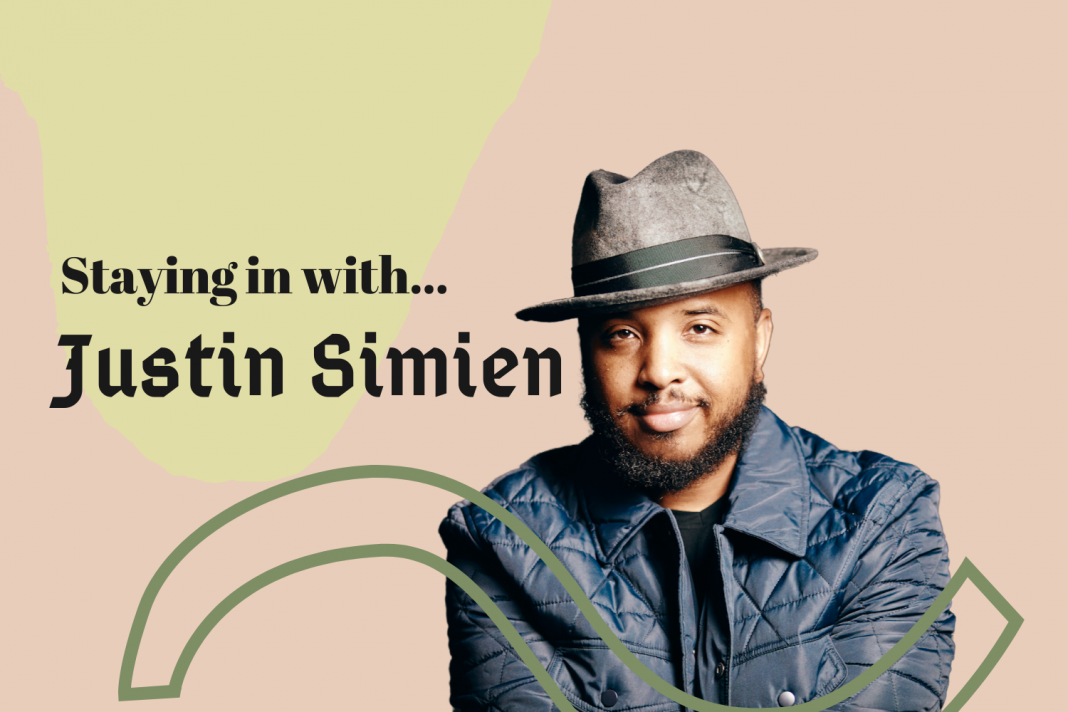 staying in with justin simien