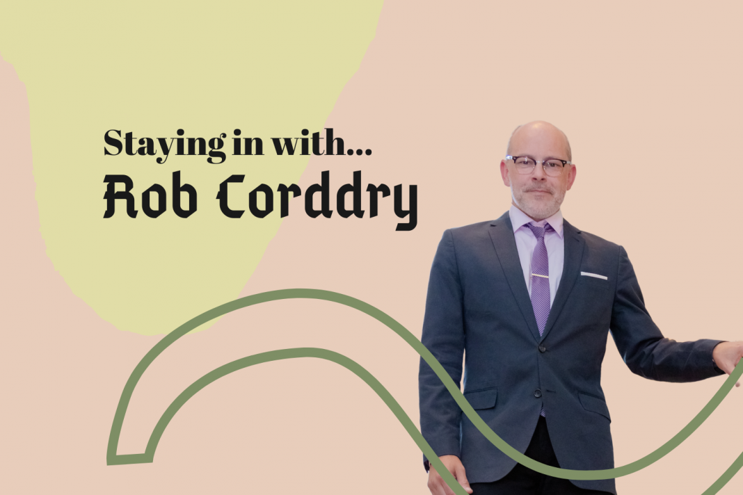 staying in with rob corddry