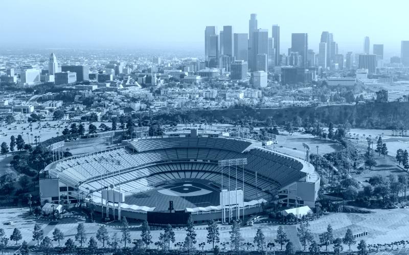 dodger stadium covid-testing