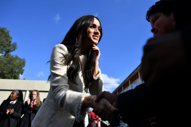 Meghan Markle Pays Tribute to George Floyd in Address to L.A. High School Students