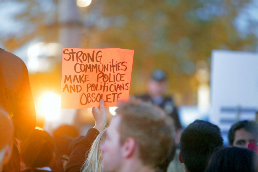 alternatives to calling police community protest