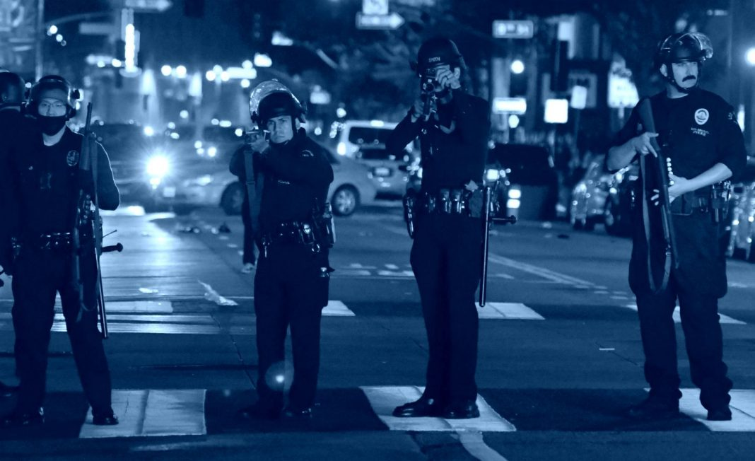 police violence lapd