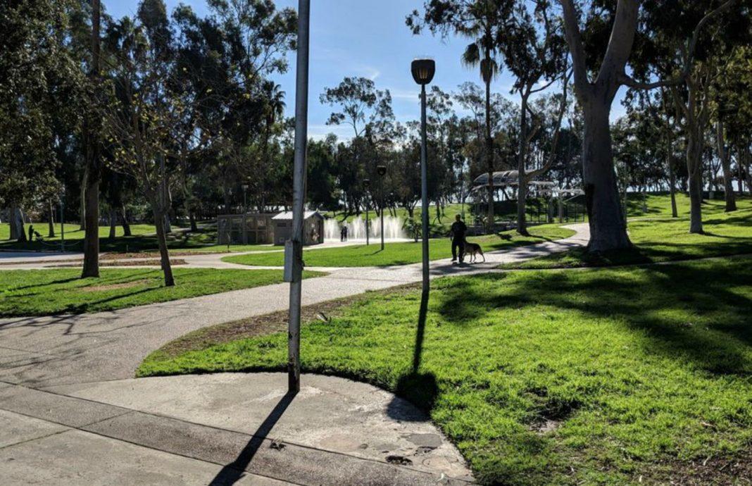 torrance karen wilson park protest