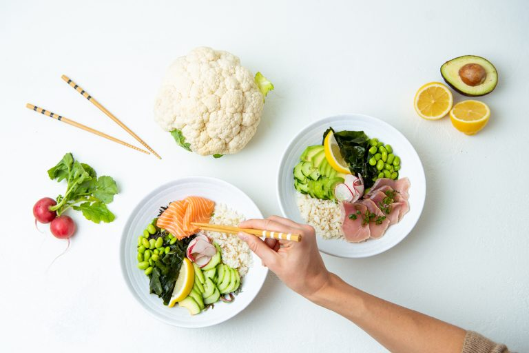 This Japanese Sushi Chef Is Experimenting with Cauliflower Rice and It's Delicious