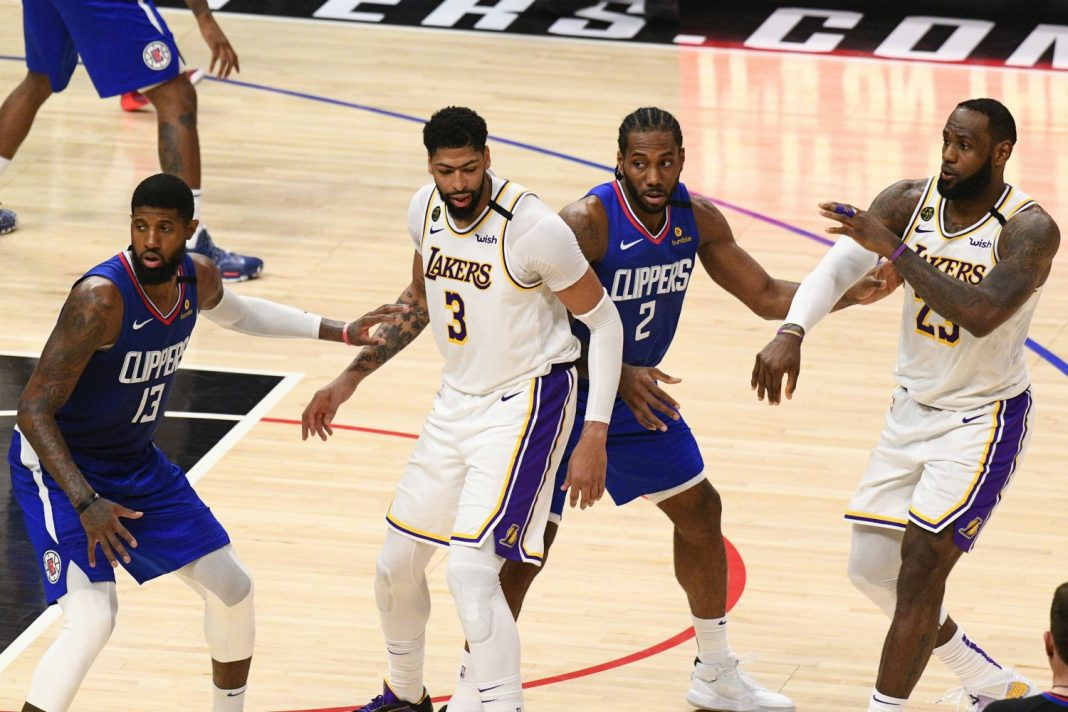 lakers clippers july 2020