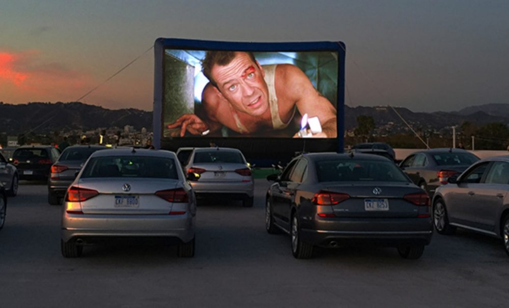 pop up drive-in movies los angeles summer 2020 street food cinema outdoor movies