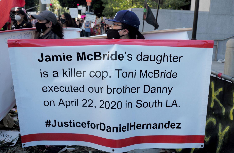 Toni McBride Violated LAPD Policy in Daniel Hernandez Shooting - LA Magazine