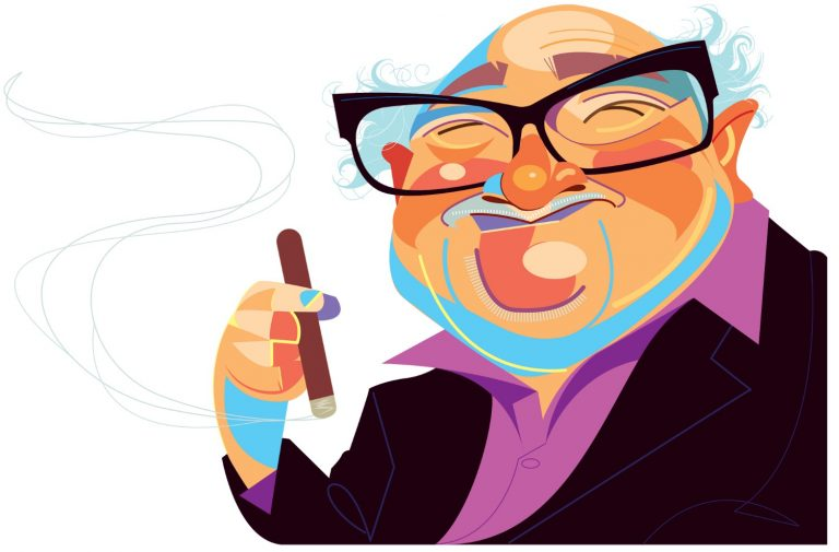 From the Cuckoo's Nest to a Philly Bar, Danny DeVito Is Still Living Large