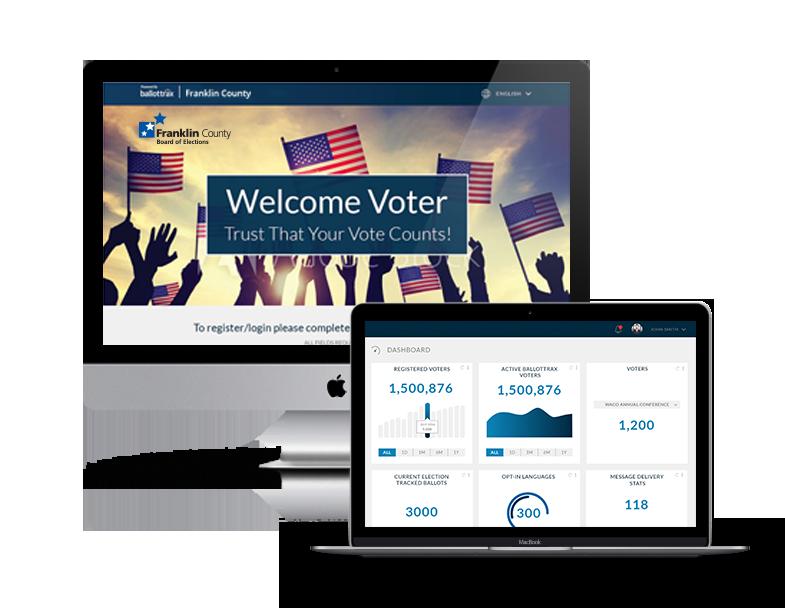 how to track mail ballot status california ballottrax