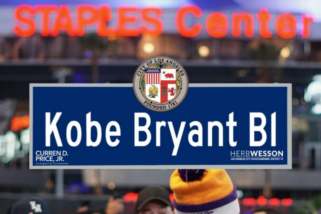 kobe bryant blvd los angeles