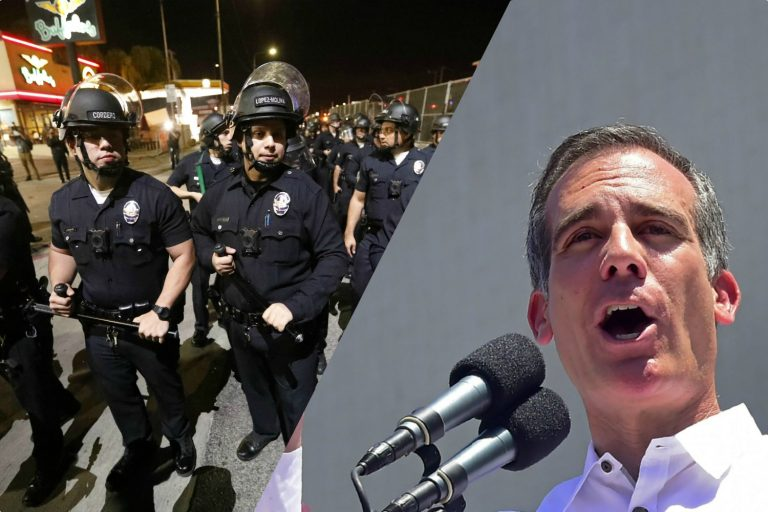 Police Union Clashes with Garcetti Over 'Party House' Shutdowns