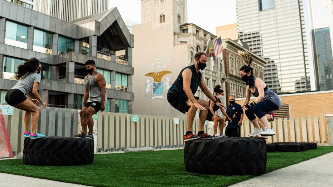 la athletic club outdoor gym los angeles