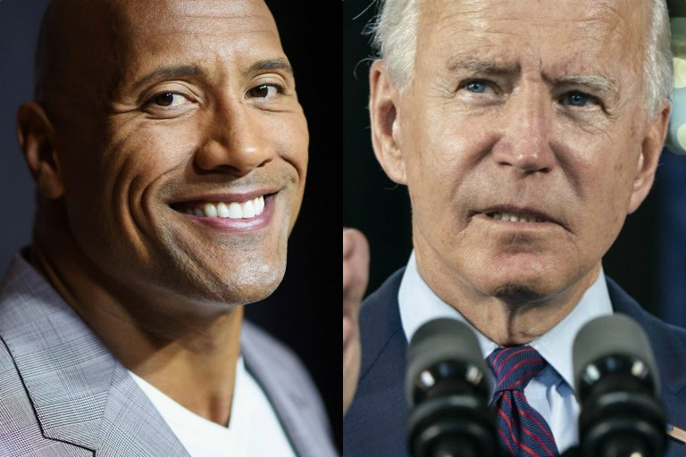 Dwayne Johnson Endorses Joe Biden and 'Certified Badass' Kamala Harris
