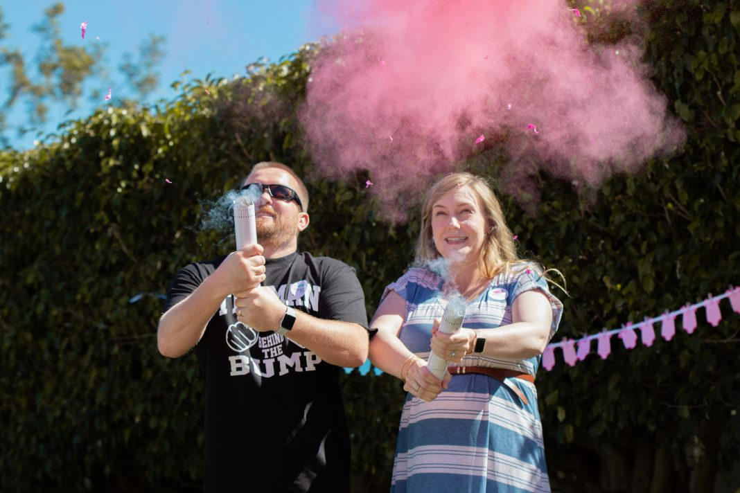 gender reveal party wildfire