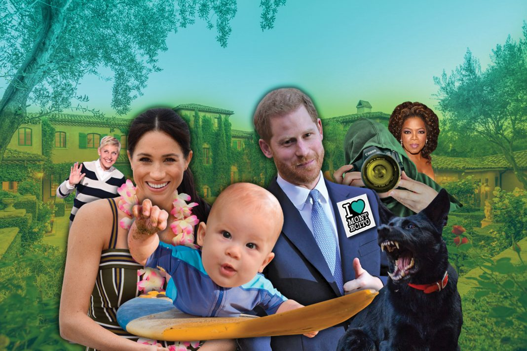 meghan and harry montecito