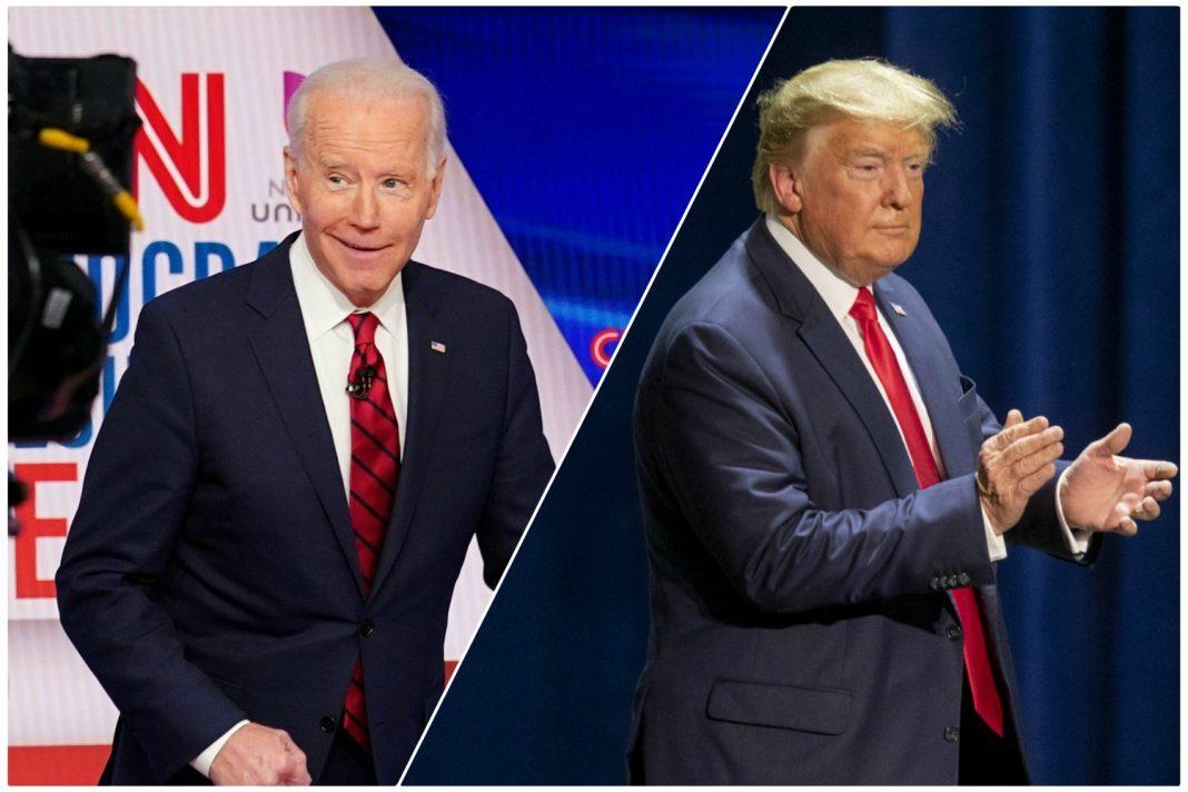 presidential debate ratings trump biden