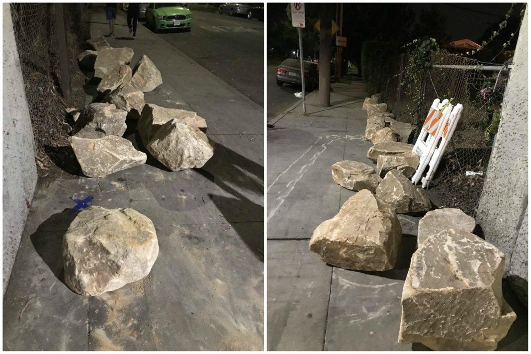underpass boulders los angeles