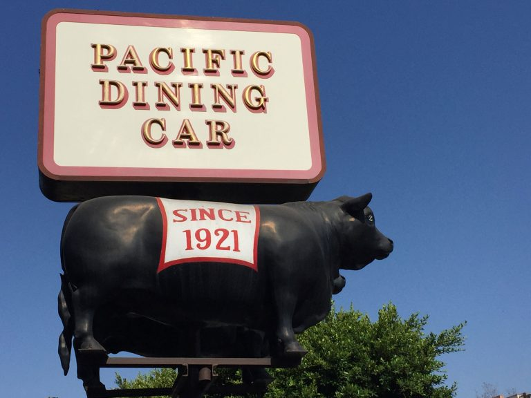 Pacific Dining Car As We Knew it Is Gone