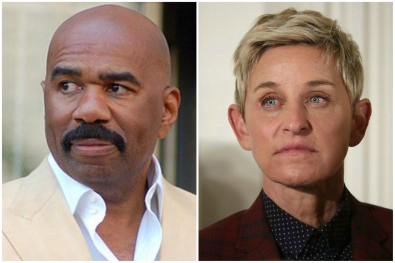Steve Harvey, Purported Difficult Boss, Comes to the Defense of Ellen DeGeneres
