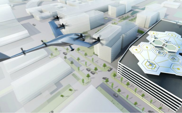 uber elevate flying car urban air mobility